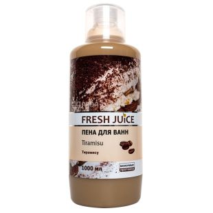 Fresh Juice Tiramisu, Піна для ванн, 1 л
