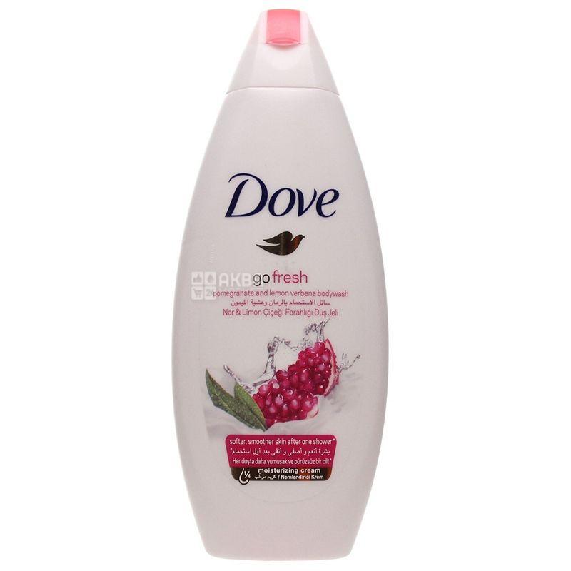 Dove, 250 мл, Гель для душа, Гранат і лимонна вербена