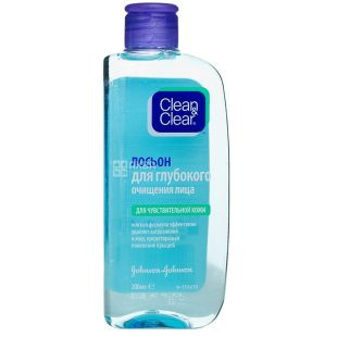 Clean & Clear Lotion, for deep cleansing of the face, 200 ml