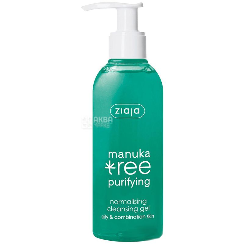 Gel Ziaja Manuka Leaves Cleansing, 200 ml
