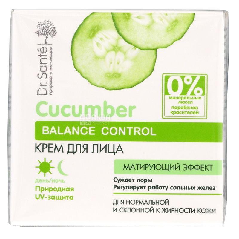 Крем Dr. Sante Cucumber Balance Control, для лица, 50 мл