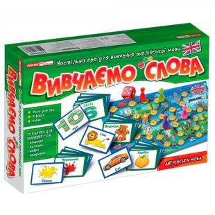 Развивающая детская игра Ранок, Путешествуем Англией, изучаем слова