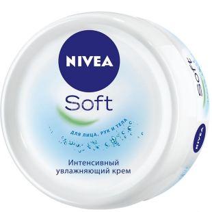 Крем Nivea Soft, интенсивный увлажняющий, 100 мл