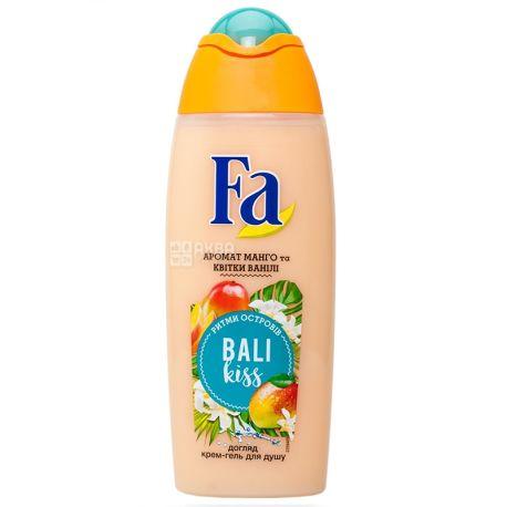 Fa Bali Kiss Аромат манго и цветка ванили, Гель для душа, 250 мл