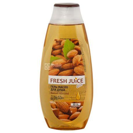 Fresh Juice Sweet Almond, Гель-масло для душа, 400 мл