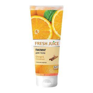 Fresh Juice Scrub Orange and Cinnamon, 200 ml