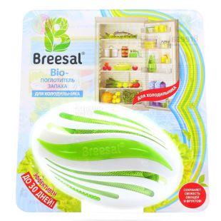 Breesal, Bio-absorber odor, For the refrigerator, 80 g