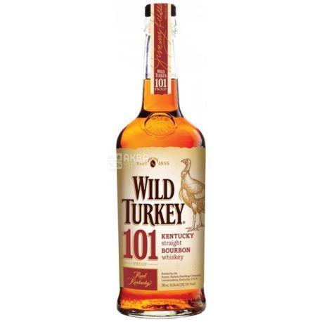 Wild Turkey 101 Бурбон, 0.7л
