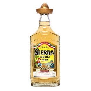 Текила Sierra Reposado 0,7 л, 38%, янтарная