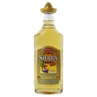 Текила Sierra Reposado 1 л, 38%, янтарная