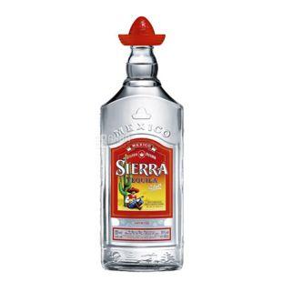 Текила Sierra Silver 0,7 л, 38%, прозрачная