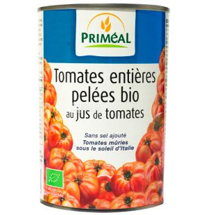 Primeal, Tomatoes in its own juice, 200 g