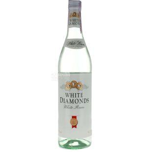 Ром White Diamonds White 0,7 л, прозрачный, 37,5%