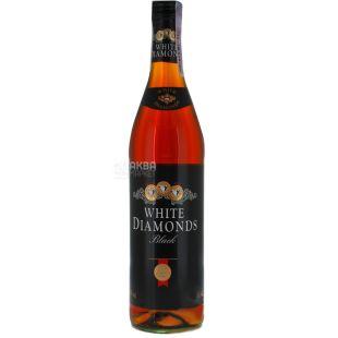 Rum White Diamonds Black 0.7 l, amber, 37.5%
