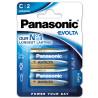Panasonic Evolta C BLI 2, Alkaline batteries, 2 pcs