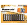 Panasonic Alkaline Power AA BLI 10, Батарейки, 10 шт