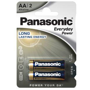 Panasonic Everyday Power AA BLI 2, Батарейка алкалиновая, 2шт
