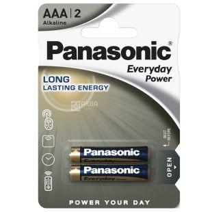 Panasonic Everyday Power AAA BLI 2, Батарейка алкалиновая, 2шт