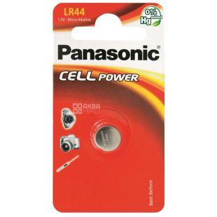 Panasonic LR44 BLI 1, Батарейка алкалиновая
