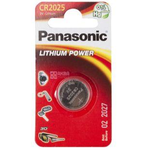 Panasonic батарейка литиевая CR 2025 BLI 1
