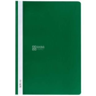 A4 folder, green with transparent top, Herlitz (Herlitz), 130 / 160mkm