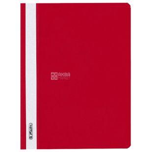 Herlitz, Папка-швидкозшивач А5, червона