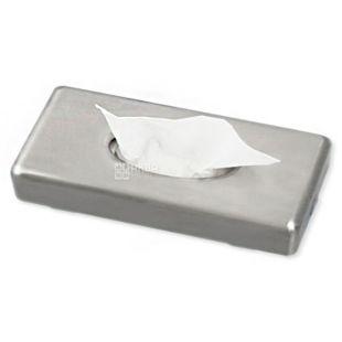 Диспенсер для косметических салфеток глянцевый, пластик, 65x267x132 мм