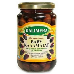 Kalimera Kalamatas, Маслины большие экстра, 370 мл
