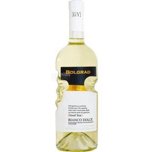Bolgrad Bianco Dolce, Вино белое полусладкое, 0,75 л