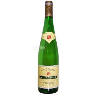 A.Zirnhelt Gewürztraminer, Вино белое полусладкое, 0,75 л