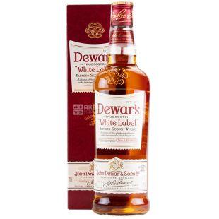 Виски Dewar's Уайт Лейбл 40% в коробке 0,7 л