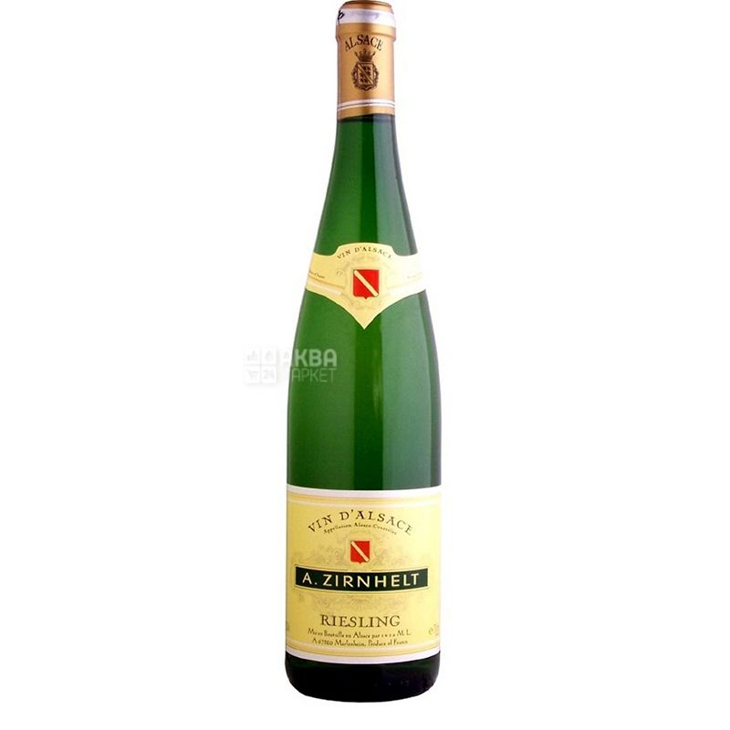 A.Zirnhelt Riesling, Вино белое полусладкое, 0,75 л