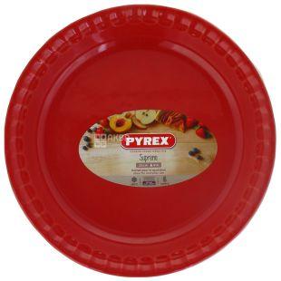 Pyrex Supreme red форма для запекания круглая, 25 см