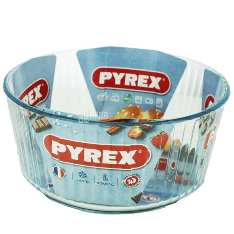 Pyrex, Форма для запекания, круглая, 21 см