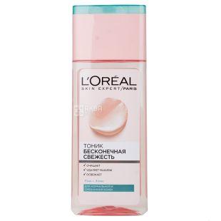 L'oreal Paris Очищуючий тонік, Для нормальної та змішаної шкіри, 200 мл