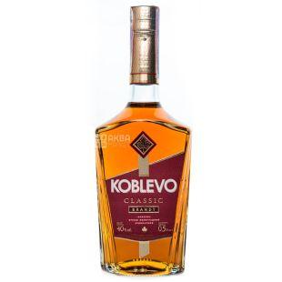 Koblevo brandy grape ordinary, 0.5 l