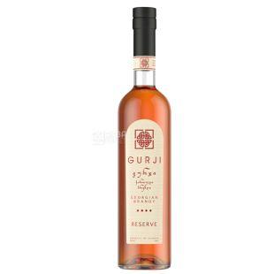 Gurji Reserve brandy, 4 stars, 0.5 l