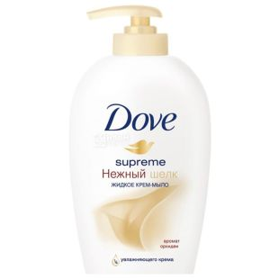 Dove Нежный шелк, Крем-мыло жидкое, 250 мл