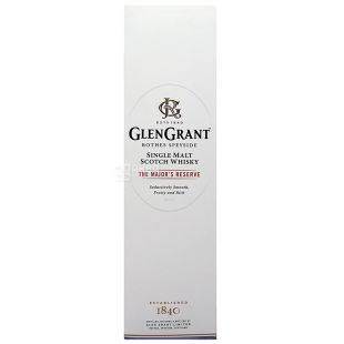 Виски Glen Grant The Major's 40% 1 л
