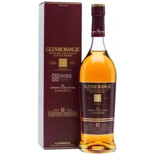 Виски Glenmorangie The Lasanta, в подарочной упаковке, 0,7 л