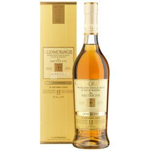 Виски The Nectar d'Or, Glenmorangie, 12 лет, 46%, 0,7л