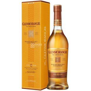 Glenmorangie Original whiskey, 10 yo 0,7 l