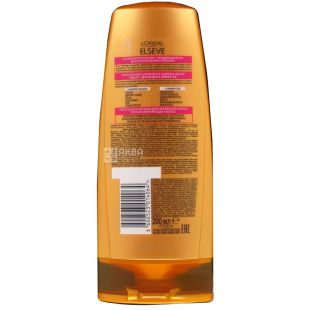L'Oreal Elseve, Balm, Luxury 6 oils, for all hair types, 200 ml