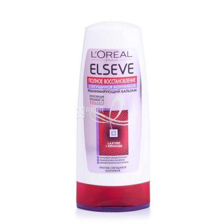 L'Oreal Elseve, Balm, Full split ends restoration, 200 ml