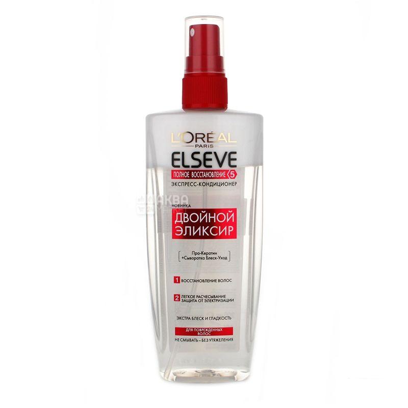 L'Oreal Elseve, Кондиционер, Полное восстановление 5, для поврежденных волос, 200 мл