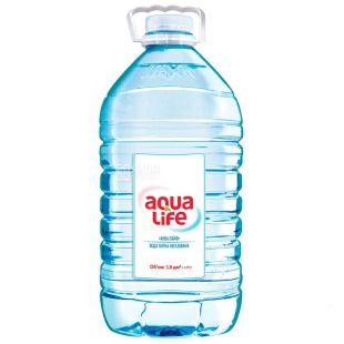 AquaLife, Вода минеральная негазированная, 5 л, ПЭТ