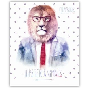 Notebook series Gipster Animal, line, 48 l., Wounds