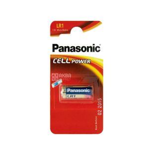 Panasonic батарейка LR1 BLI 1