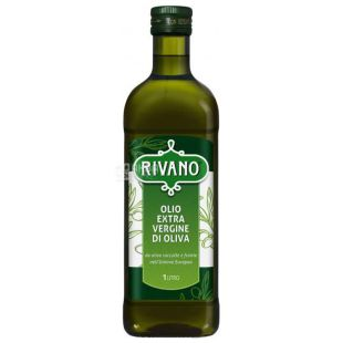 Rivano Extra Virgin, Olive Oil, 1 L, glass