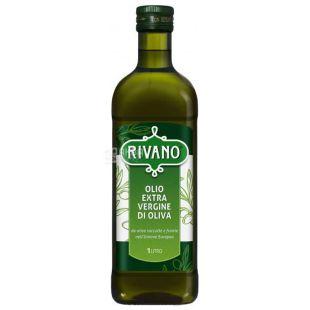 Rivano Extra Virgin, Оливковое масло, 1 л, стекло